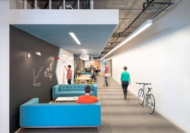 Projekt wn trza nowoczesnego biura biura wielkich for Stella and dot san francisco
