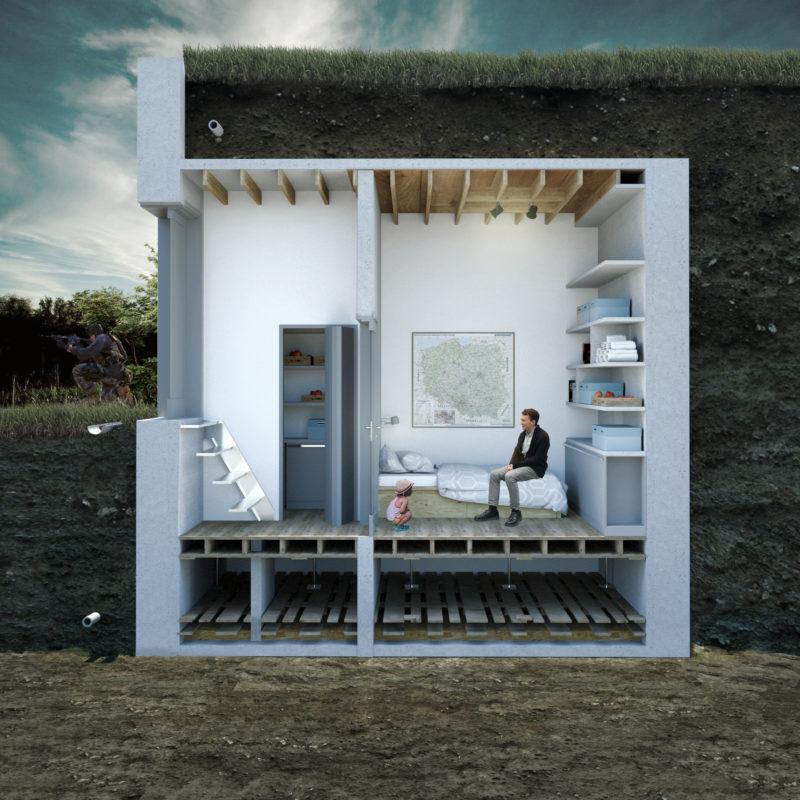 ziemianka ogrodowa ziemianka projekt inspiracja jak zbudować ziemiankę