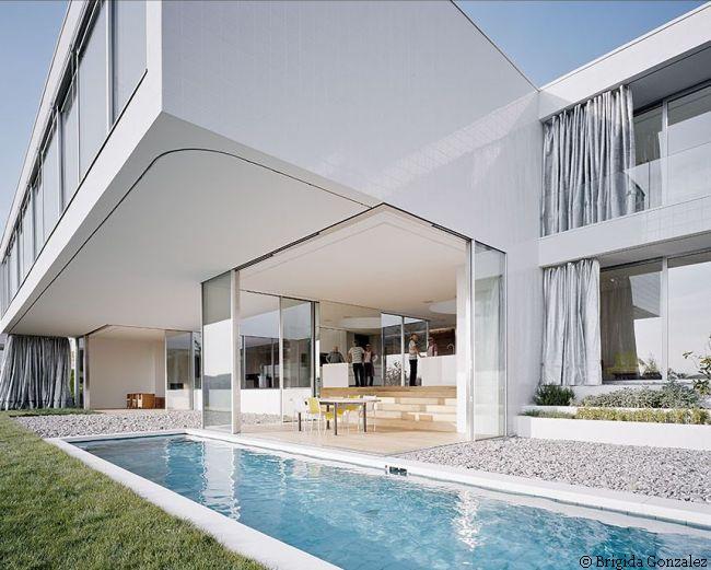 minimalistyczny dom
