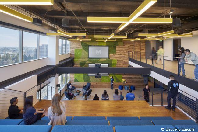 nowoczesne wnętrze nowoczesnego biura