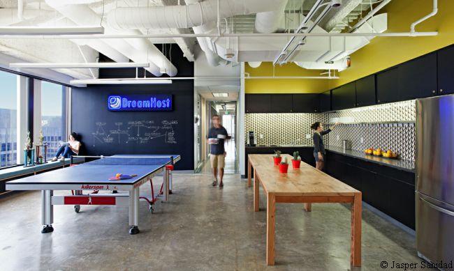 kreatywne wnętrze nowoczesnego biura