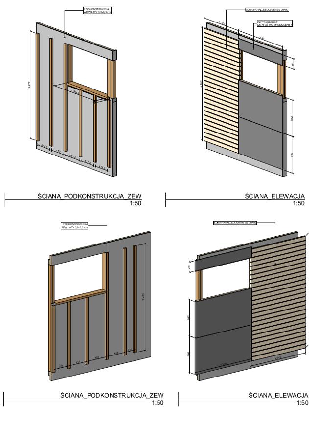 projekt sauny