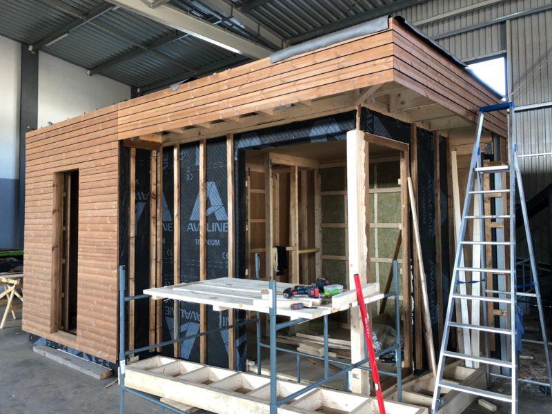 nowoczesna sauna