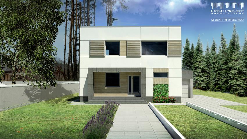 projekt zmiany elewacji, projekt nowej elewacji, nowa elewacja domu typu kostka, nowa elewacja starego domu, odnowa elewacji, remont elewacji
