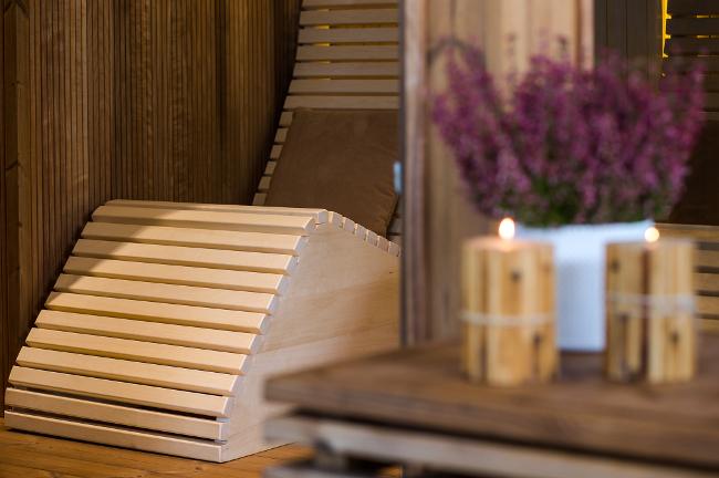 premiera sauny od biura Pani Dyrektor, targi, prezentacja, sauna zewnętrzna