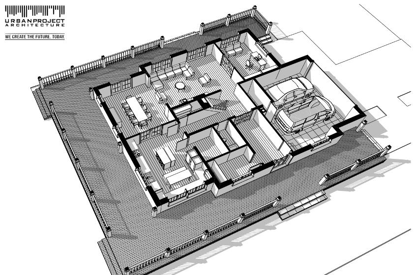 Świetny układ wnętrz i rozmieszczenie pomieszczeń. Niezwykły projekt indywidualny - zobacz wizualizacje i rzuty.
