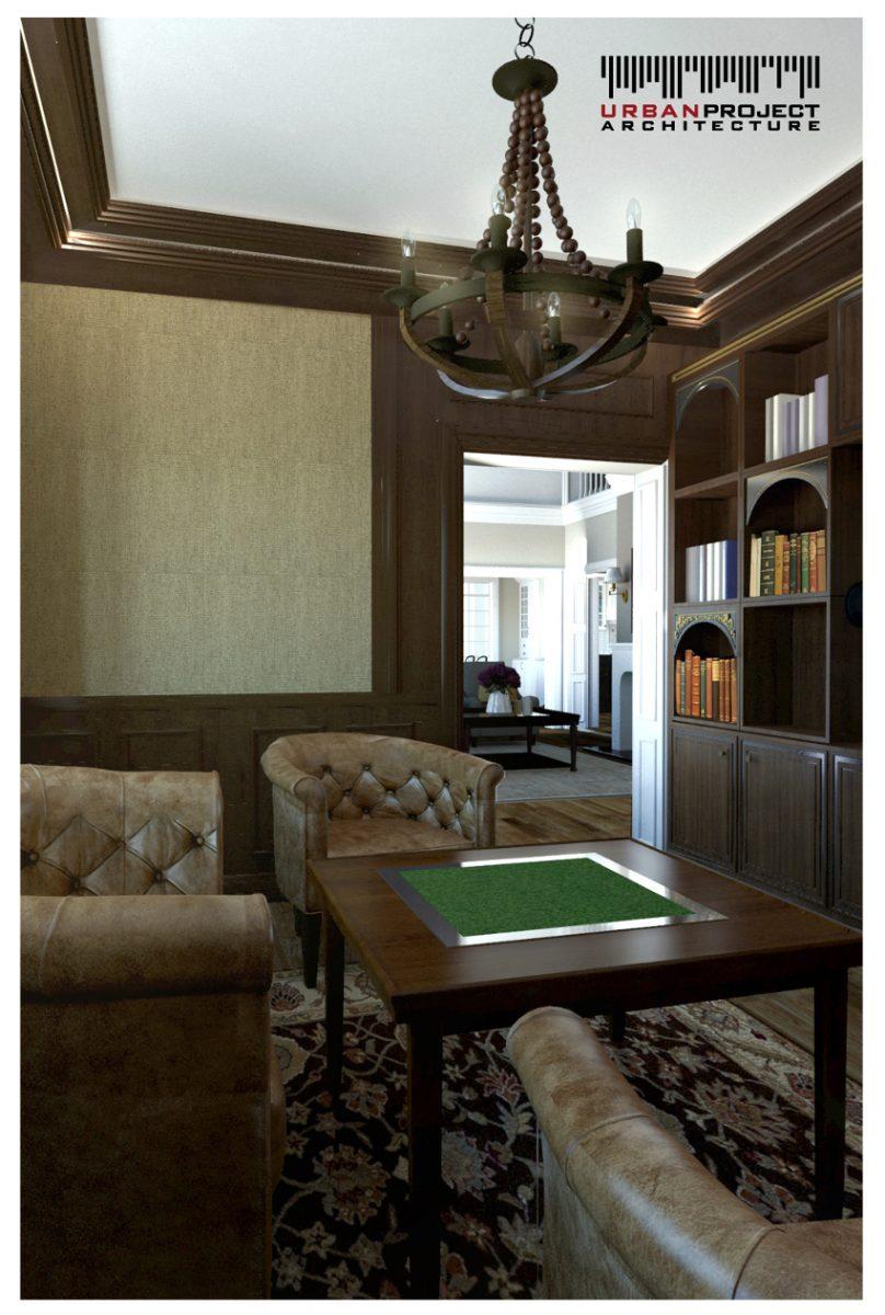 Osobna biblioteczka to marzenie wielu z Was. Ta została zaaranżowana na elegancką przestrzeń inspirującą do dyskusji i wymiany spostrzeżeń. ;]