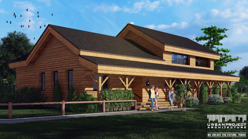 Chociaż początkowo projekty mogą wydawać się identyczne, to jednak sprawne oko będzie w stanie szybko dostrzec różnice :)  Projekt ciekawego domu z drewna -  Dom Marzeń A0192 Projekt fantastycznego domu