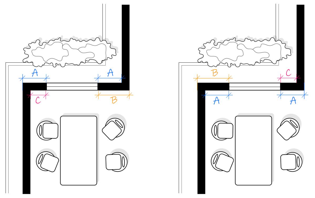 Okno ułożone symetrycznie na zewnątrz, czy wewnątrz budynku? To jeden z wielu dylematów projektowych. Nie tylko wnętrze - o czym należy pamiętać projektując wymarzony dom