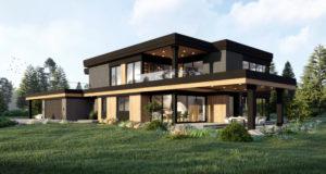 Dom z piętrem