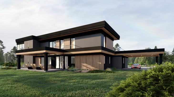 Zobaczcie jakiego charakteru dodają budynkowi zastosowane gzymsy wieńczące koleje kondygnacje :)