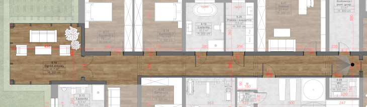 Długie korytarze. Przemyślenia architekta.