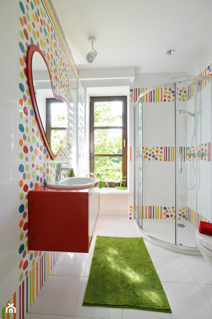 Łazienka w pokoju dziecka - inspiracje