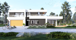 Projekt indywidualny domu piętroweg
